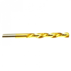 Brocas HSS TIN Titanio 4,5 mm 10 unidades