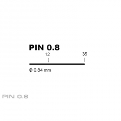 PIN BETA 0.8 / 30 mm