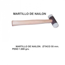 Martillo nylon 55 mm