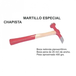 Martillo chapista plana-peña 40 mm