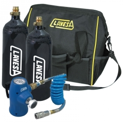 Kit con dos botellas CO2